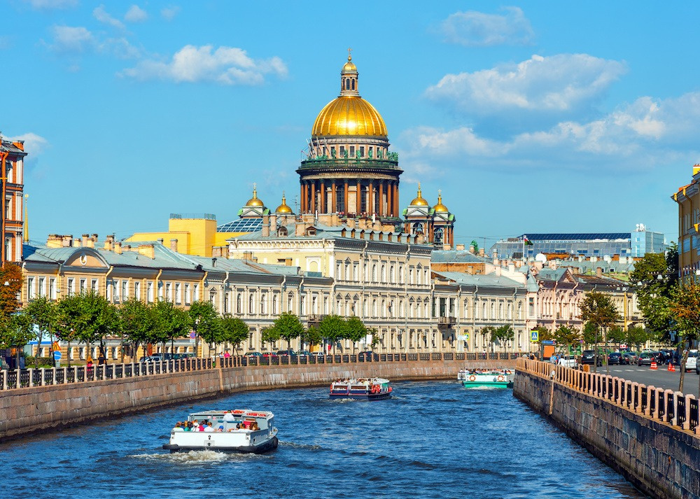 st petersburg russia river
